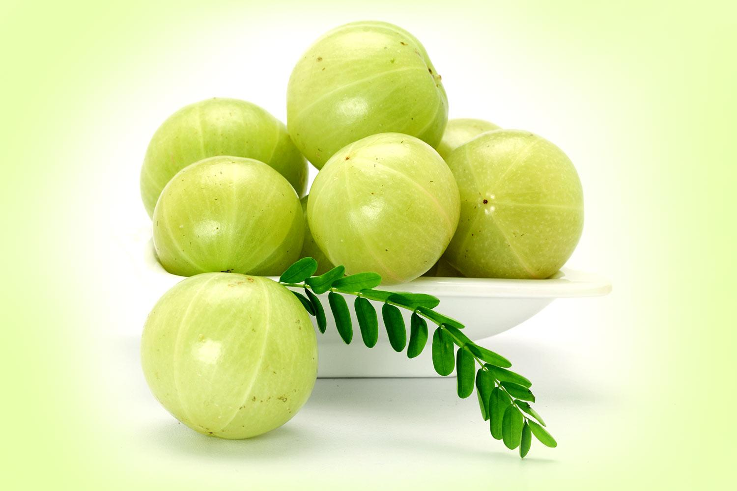 Amazing amla indian gooseberry