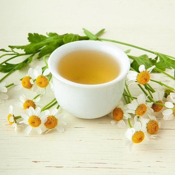 Chamomile flower tea endometriosis
